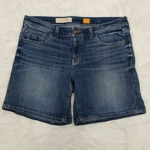Pilcro and the Letterpress Stet denim shorts